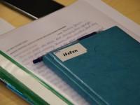 Eeskujuks kõigile: Helen on süstemaatiline klassipäevikupidaja. Foto: Mari-Liis Kullamaa