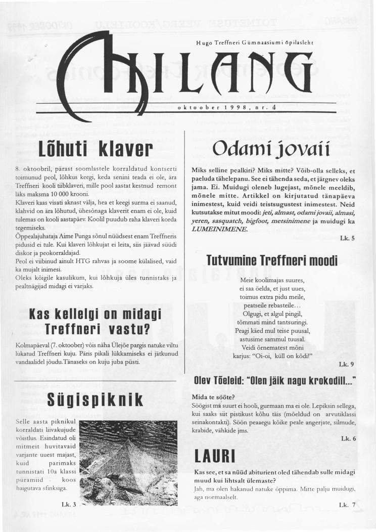 Oktoober 1998